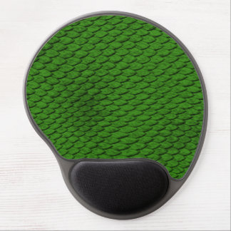 Green Scales Gel Mouse Pad