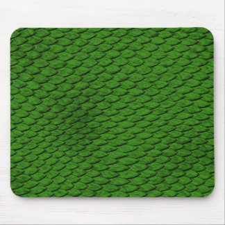 Green Scales Mouse Pad