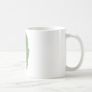 Green scarred zombie mug