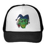 Green Scary Jester Hat