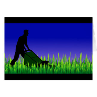 green scene lawn care card