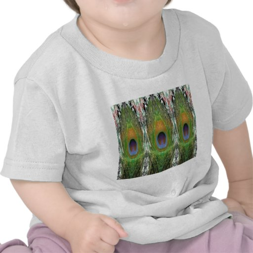 GREEN Scene - Peacock Feather Collection T Shirt