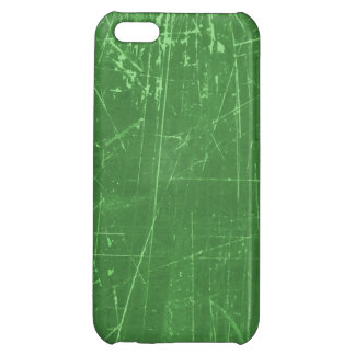 Green Scratched Aged and Worn Texture iPhone 5C Covers