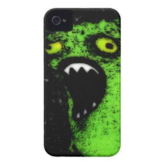 Green Scream iPhone 4 Cover
