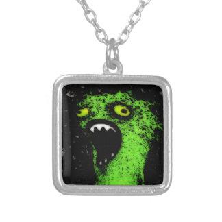 Green Scream Custom Necklace