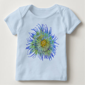 Green Sea Anemone Baby T-Shirt