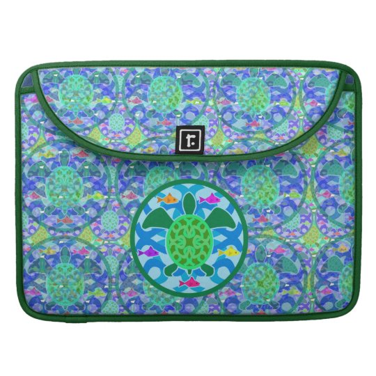 "Green Sea Turtle 15"" MacBook Pro Sleeve"