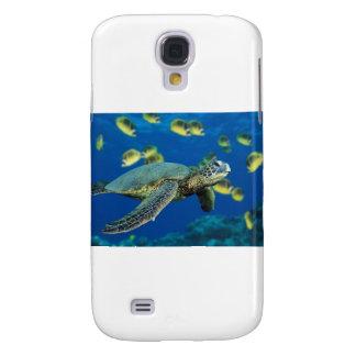 Green Sea Turtle Galaxy S4 Case
