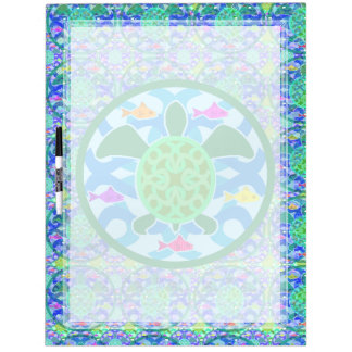 Green Sea Turtle Large Dry Erase Board
