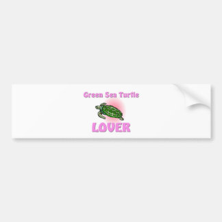 Green Sea Turtle Lover Bumper Stickers