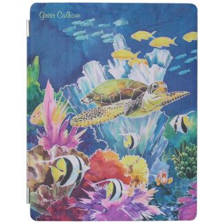 Green Sea Turtle Ocean Fish ipad air 2 cover iPad Cover