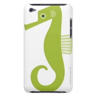 Green Seahorse iPod Case-Mate Case