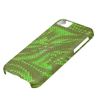 Green Sequin Effect Phone Cases iPhone 5C Case