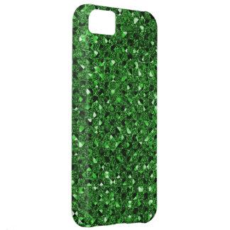 Green Sequin Effect Phone Cases iPhone 5C Case