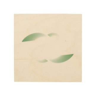 green shades wood canvases