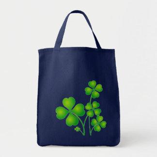 Green Shamrock From Ireland Tote Bag