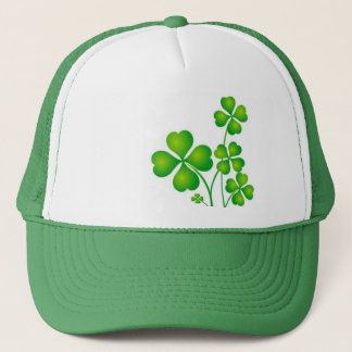 Green Shamrock From Ireland Trucker Hat