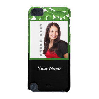 Green shamrock photo template iPod touch (5th generation) case