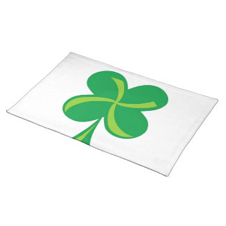 Green Shamrock Placemat