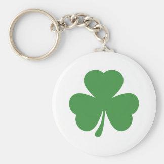 green shamrock st. patrick´s day key chains