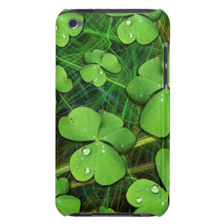 Green Shamrock St Patrick's Day iPod Touch Case