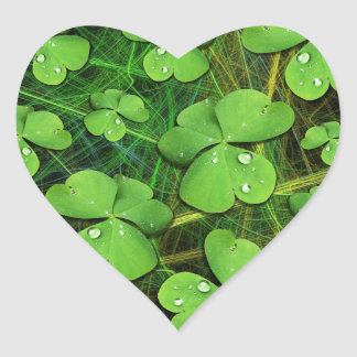 Green Shamrock St Patrick's Day Sticker