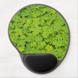 Green Shamrocks Gel Mouse Mat