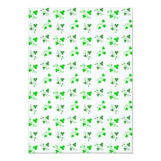 Green Shamrocks Pattern Announcement