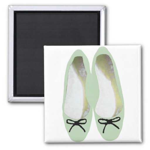 Green Shoes Magnets