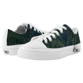 Green Shoes Printed Shoes