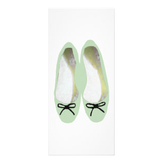 Green Shoes Rack Card