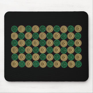 green shotgun shells mouse mat