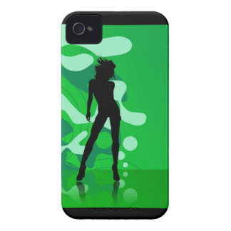 Green Silhouette iPhone 4/4S Case
