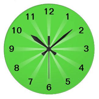 Green Simple Design Clocks