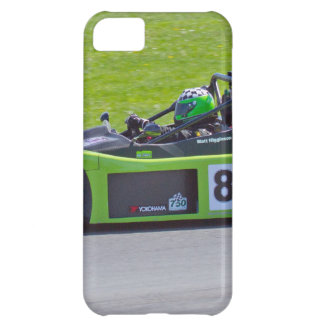 Green single seater race car iPhone 5C covers