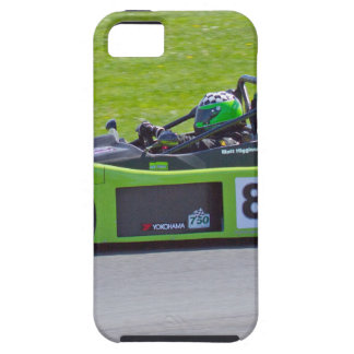 Green single seater race car iPhone 5 cases