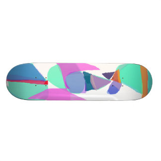 Green Skateboard Deck