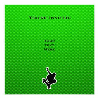 Green Skateboarding Custom Announcements