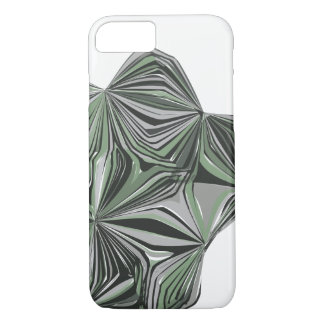 Green Sketch iPhone Case