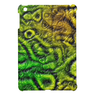 Green skin texture cover for the iPad mini