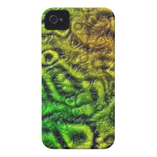 Green skin texture iPhone 4 cover