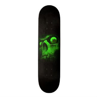 Green Skull 21.6 Cm Skateboard Deck