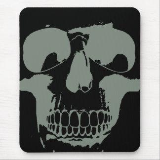 Green Skull Mouse Mat