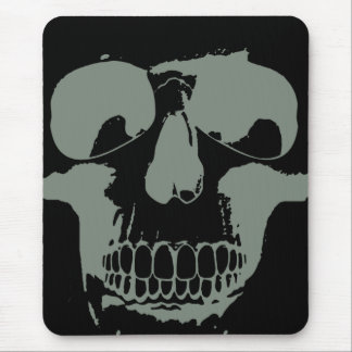 Green Skull Mouse Pad