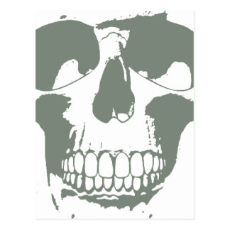 Green Skull Postcards