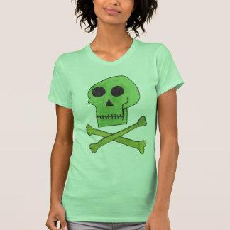 Green Skull Shirts