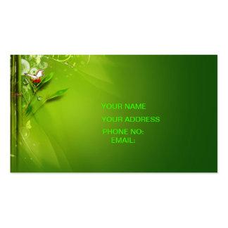 green sky business card