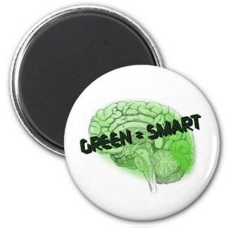 Green=Smart 6 Cm Round Magnet