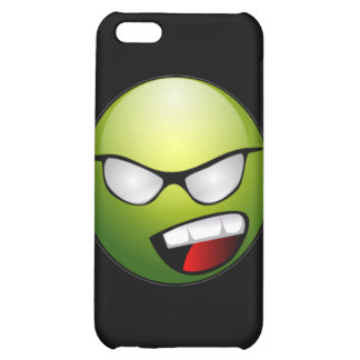 Green Smiley Face iPhone Case iPhone 5C Cases