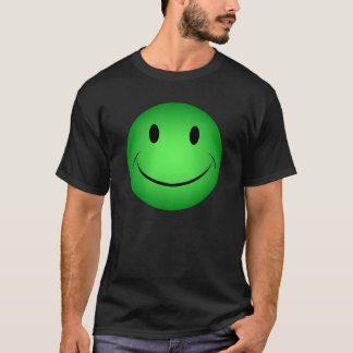 Green Smiley T-Shirt